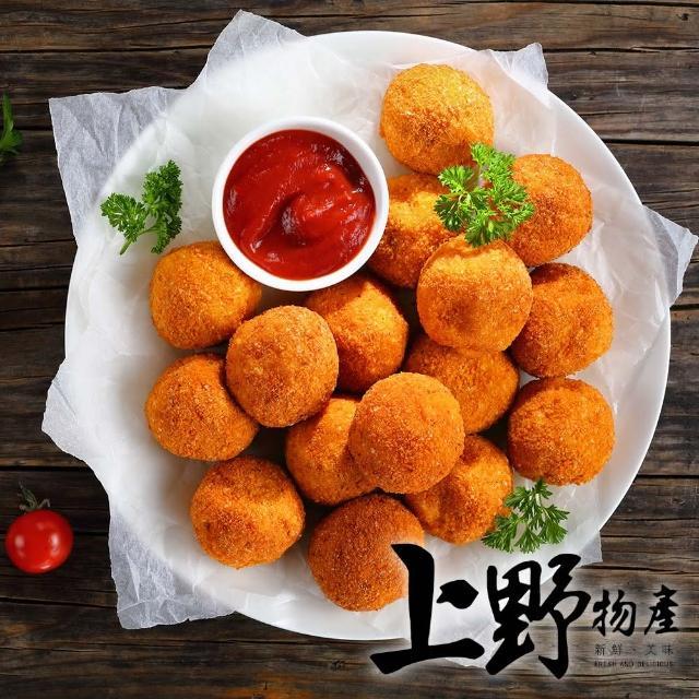 【上野物產】俄羅斯國菜 經典起士乳酪薯球 x10包(200g±10%/包)