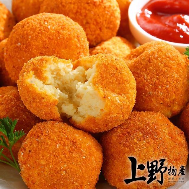【上野物產】俄羅斯國菜 經典起士乳酪薯球 x5包(200g±10%/包)
