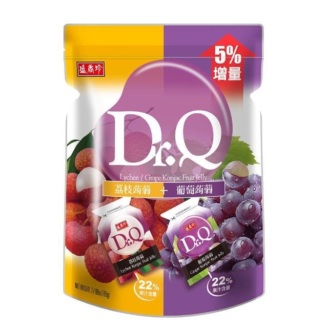 【盛香珍】Dr.Q雙味蒟蒻果凍785g/包(葡萄+荔枝-每包約42入)