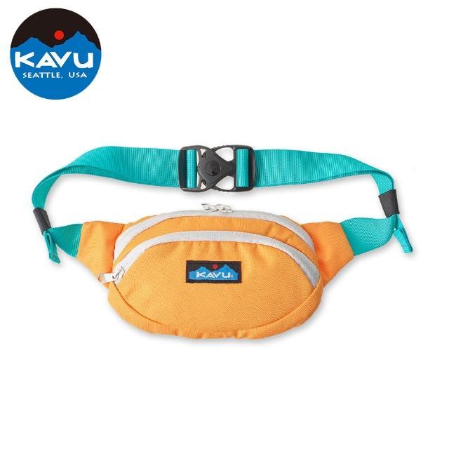 【KAVU】Spectator 休閒腰包|肩背包 原彈橘 #9065