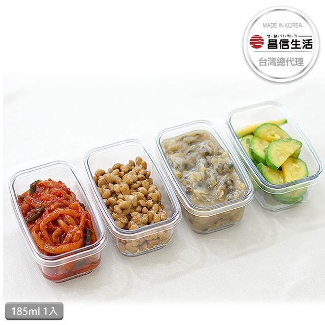 【韓國昌信生活】SKYLOCK密扣1號保鮮盒(185ml x1)
