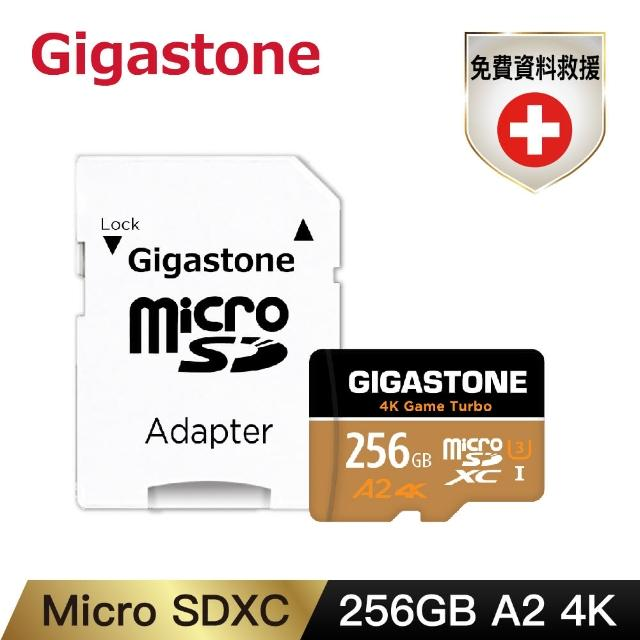 【Gigastone 立達國際】Data Recovery 256GB micro SDXC UHS-Ⅰ U3 資料救援記憶卡(256G A2 4K高速記憶卡)