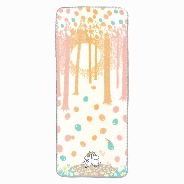 【Marushin 丸真】Moomin夢想氣泡刺繡毛巾