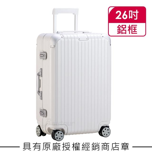 【Rimowa】Hybrid Check-in M 26吋行李箱 亮白色(883.63.66.4)