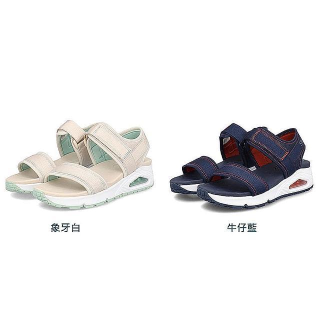 SKECHERS全新機能AIR氣墊涼鞋-亞洲首發