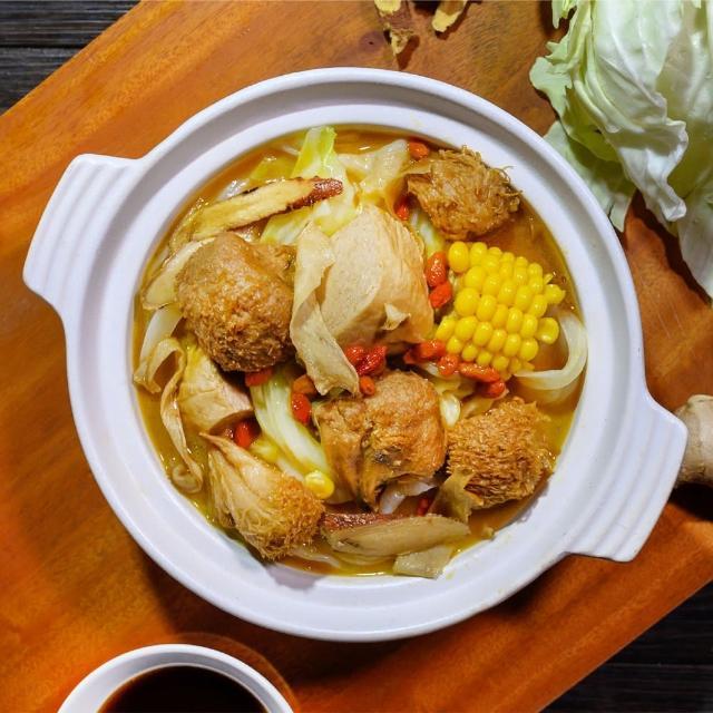 【莊淑旂養生莊園】素月子燉湯代謝-1號餐(素食燉湯)