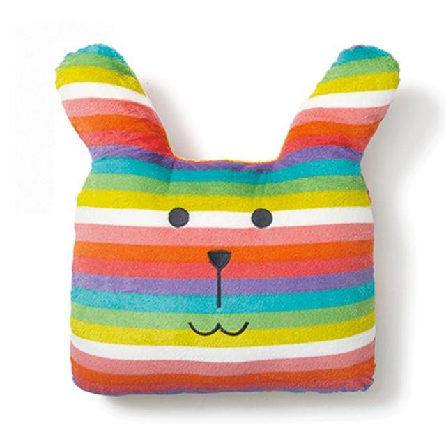 【CRAFTHOLIC 宇宙人】夏威夷彩虹兔大靠枕(春夏設計款)