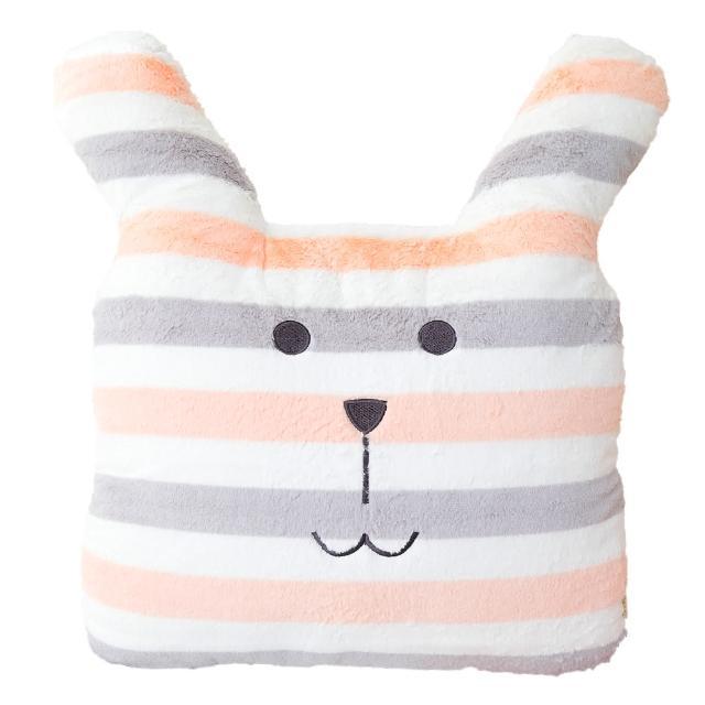 【CRAFTHOLIC 宇宙人】簡單條紋兔大靠枕(春夏設計款)