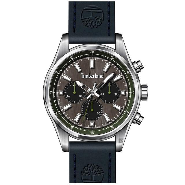【Timberland】多功能日期手錶-46mm(TDWGF2100401)
