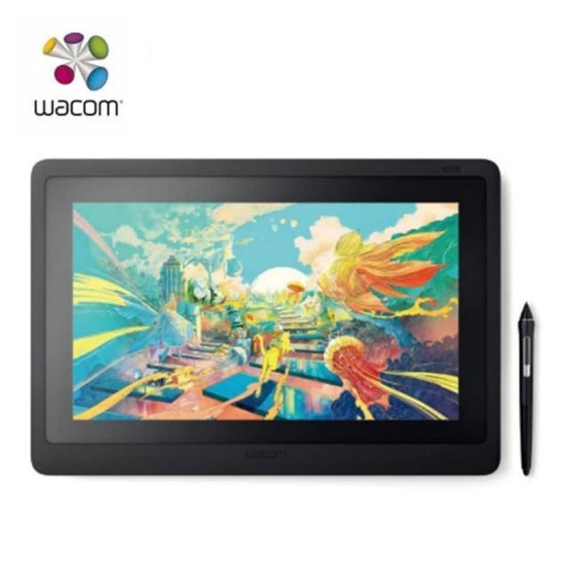 【Wacom】Cintiq 16 Creative Pen 專業創意手寫繪圖 15.6吋 液晶螢幕(WADTK-1660)