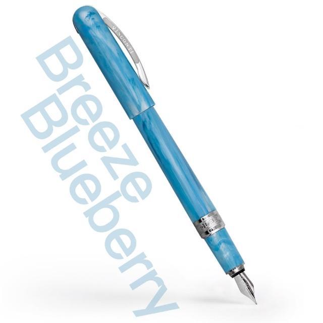 【Visconti】Breeze系列-鋼筆(藍莓青 Blueberry)