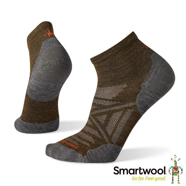 【SmartWool】PhD戶外超輕短筒襪(軍風橄綠)