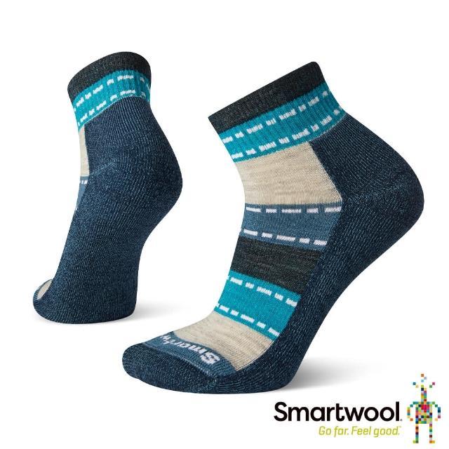 【SmartWool】女 輕量減震徒步短筒襪(沼澤灰)