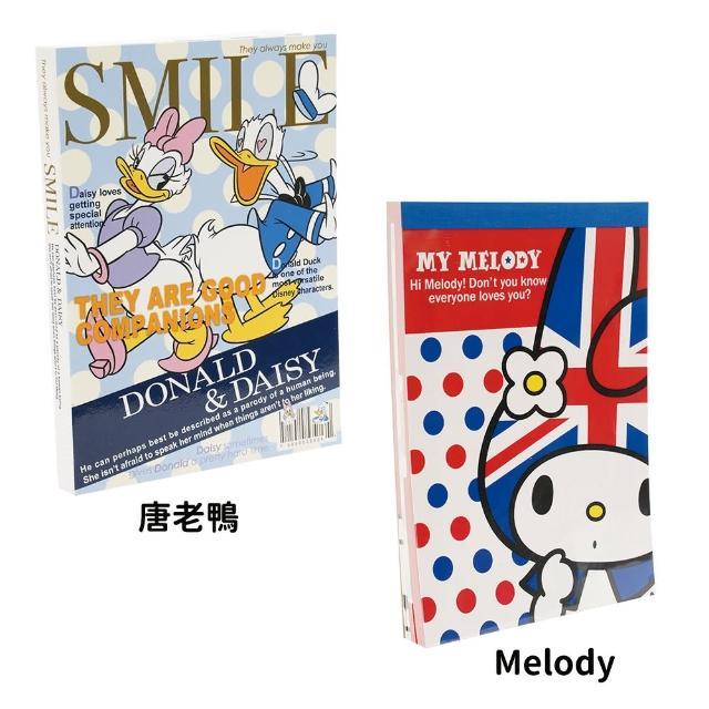 【TDL】日本製美樂蒂唐老鴨黛西便條紙筆記本記事本 319100/416946