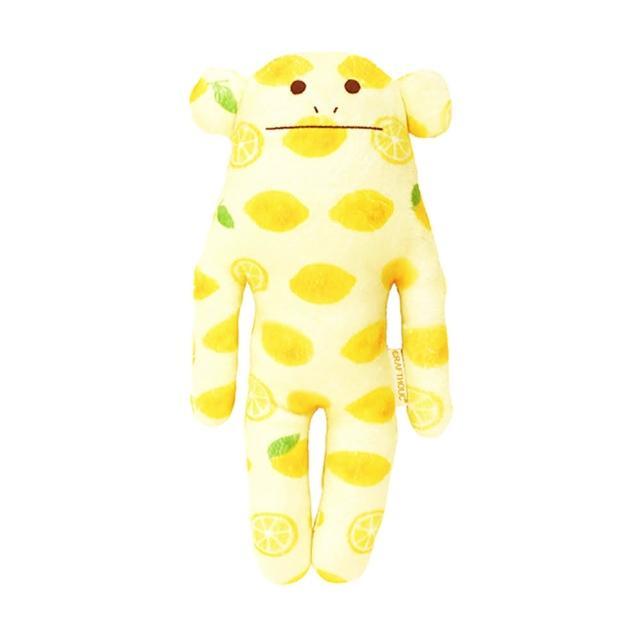 【CRAFTHOLIC 宇宙人】多汁檸檬猴小抱枕(多汁熱銷款)