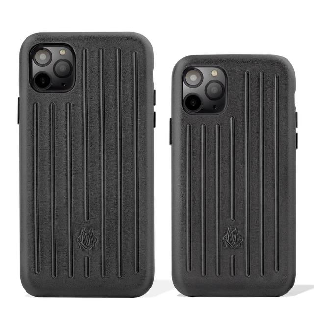 【Rimowa】皮革黑手機殼 iPhone 11 Pro/11 Pro Max(公司貨)