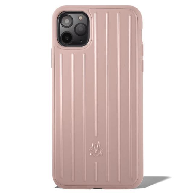 【Rimowa】沙漠玫瑰粉手機殼 iPhone 11 Pro Max(公司貨)
