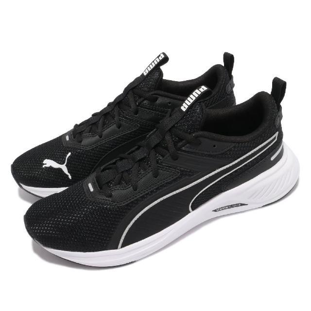 【PUMA】慢跑鞋 Scorch Runner 男女鞋 路跑 緩震 輕量 舒適 情侶穿搭 黑 白(19445901)