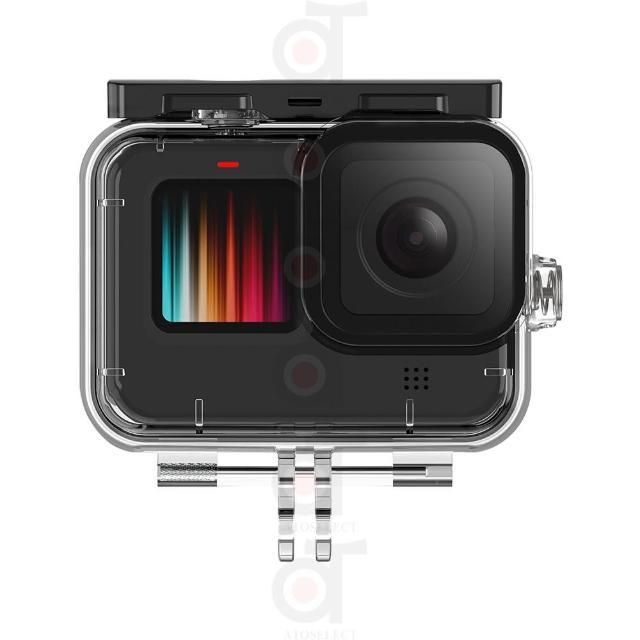 【ATO SELECT】GoPro Hero9 Black 防水殼 45米 GoPro 副廠(GoPro Hero 9 Black 防水殼 副廠)
