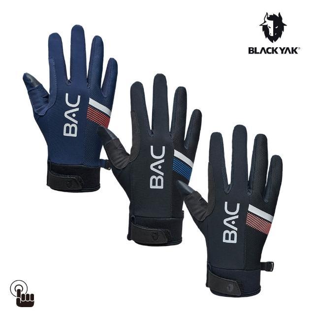【BLACK YAK】BAC全指手套[珊瑚紅/海軍藍/黑色]BYAB1NAN06(韓國 耐磨防滑 觸控手套)