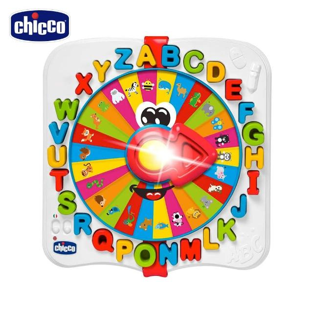 【Chicco】聲光字母動物語言學習機(英/義)