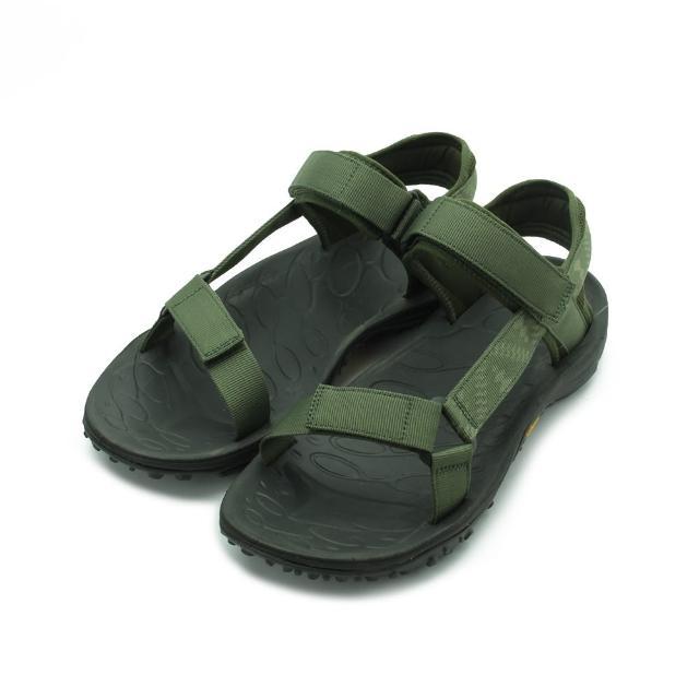 【MERRELL】US 7-11 男鞋 KAHUNA WEB 織帶水陸涼鞋 軍綠 ML001095