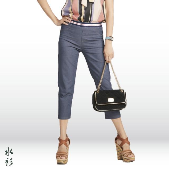 【水衫】亮麗丰采休閒七分褲四件組(I03-44)