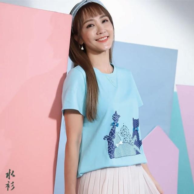【水衫】高含棉立裁美型上衣5件組(J03-09)