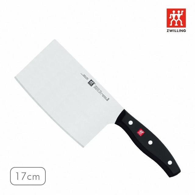 【ZWILLING 德國雙人】TWIN pollux中式剁刀17cm