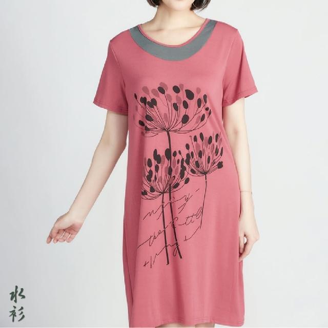 【水衫】樂活舒適長洋裝超值六件組(J03-21)