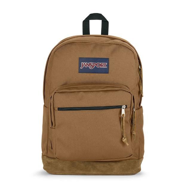 【JANSPORT】RIGHT PACK單邊水壺側袋款(橡膠木 JS-43972J7G5)