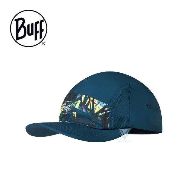 BUFF【BUFF】BF125315 跑帽 - 叢林海藍(BUFF/跑帽/運動帽)