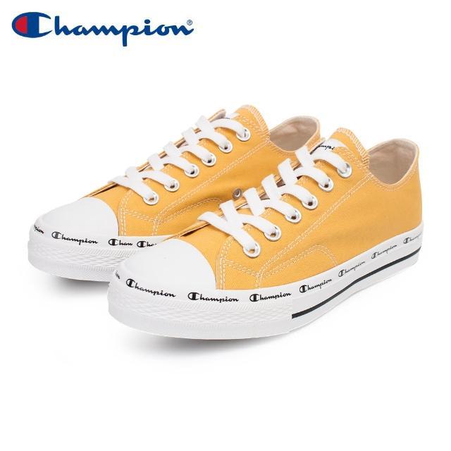 【Champion】CLASSIC CP CANVAS 男女中性款芥末黃色低筒帆布鞋NO.usls-1013-99