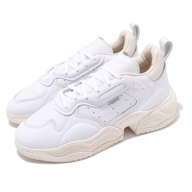 【adidas 愛迪達】休閒鞋 Supercourt RX 老爹鞋 男鞋 愛迪達 增高 緩震 穿搭推薦 街頭流行 白 米(FU8941)
