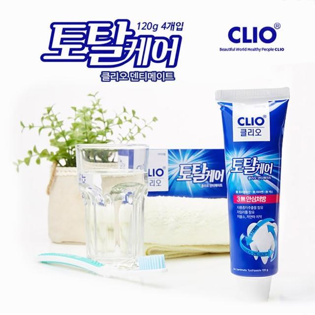【韓國原裝進口】CLIO 葡萄柚籽低氟溫和淨齒牙膏(150g X12條/兒童可用)