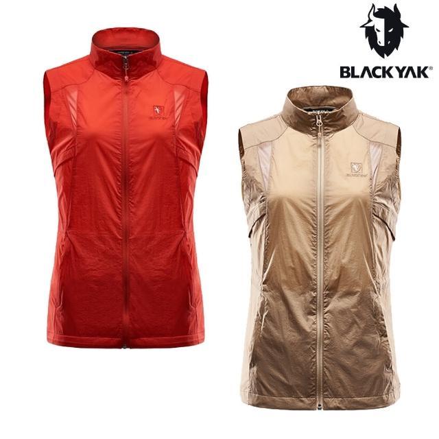 【BLACK YAK】女立領透氣背心[卡其色]BY161WV003(韓國春夏 耐磨背心 女背心)