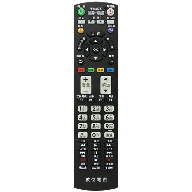 【全區版】第四台有線電視數位機上盒遙控器 MOD-2000(2入組)