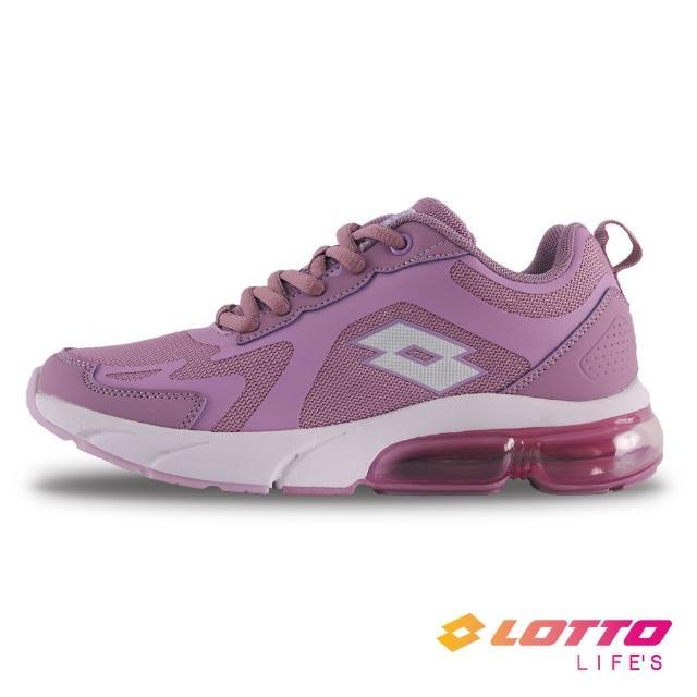 【LOTTO】女 氣墊跑鞋(紫-LT1AWR3577)