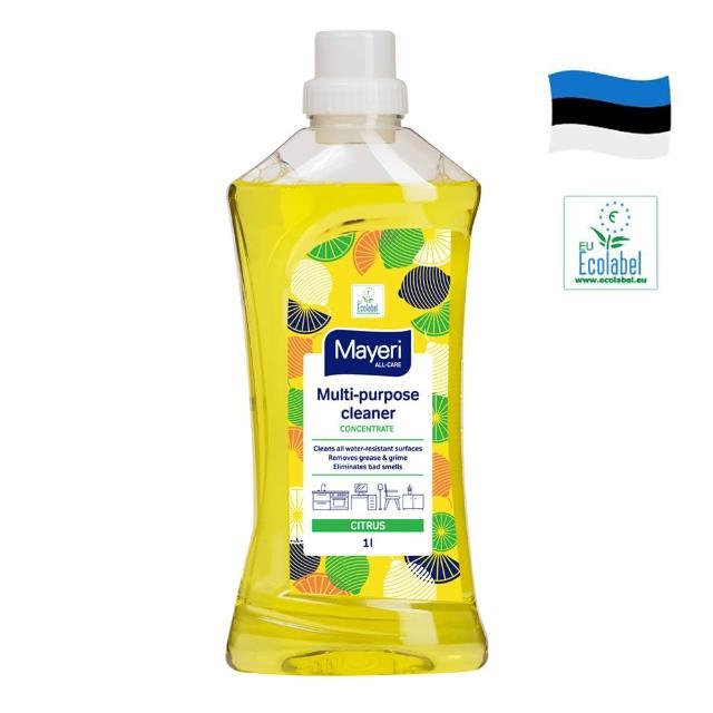 【Mayeri 瑪耶里】高效多功能萬用濃縮清潔液-檸檬香氛1000ml(廚房、客廳、臥室地板)