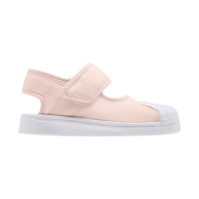 【adidas 愛迪達】Superstar 360 涼鞋 男童/女童(FV7486)