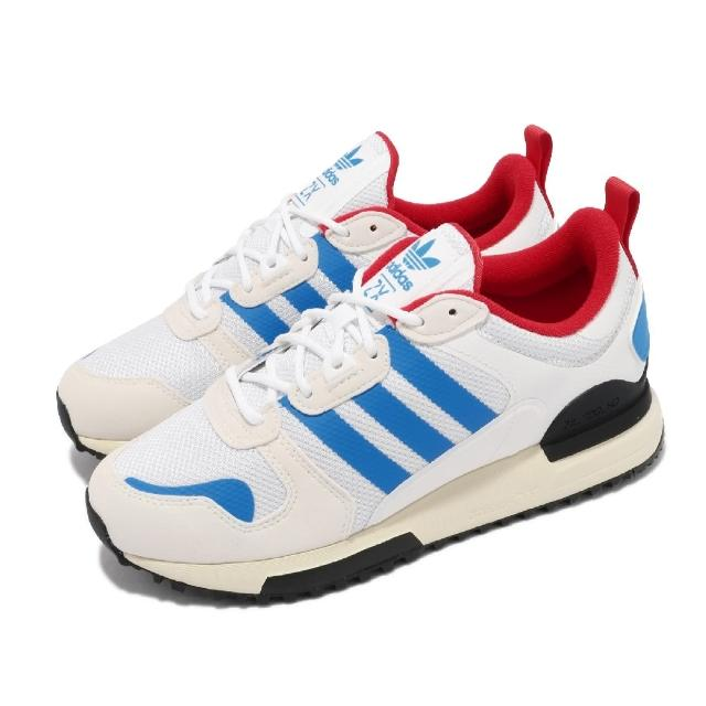 【adidas 愛迪達】休閒鞋 ZX 700 HD 運動 女鞋 愛迪達 經典款 舒適 簡約 球鞋 穿搭 白 藍(FX5235)