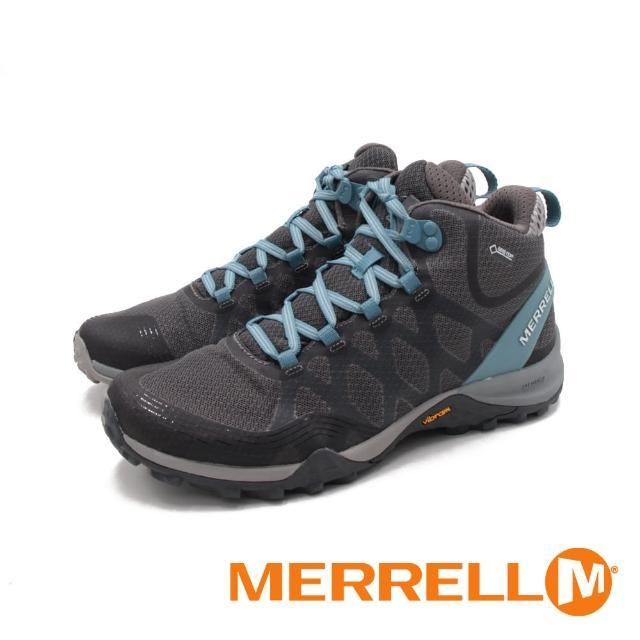 【MERRELL】女 SIREN 3 MID GORE-TEX高筒郊山健行鞋 女鞋(灰藍)