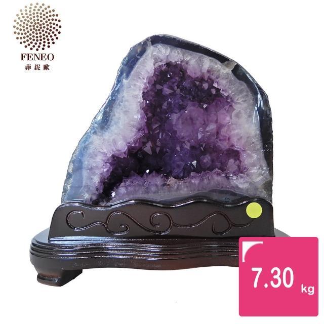 【菲鈮歐】開運招財天然巴西紫晶洞 7.3kg(SA-248)