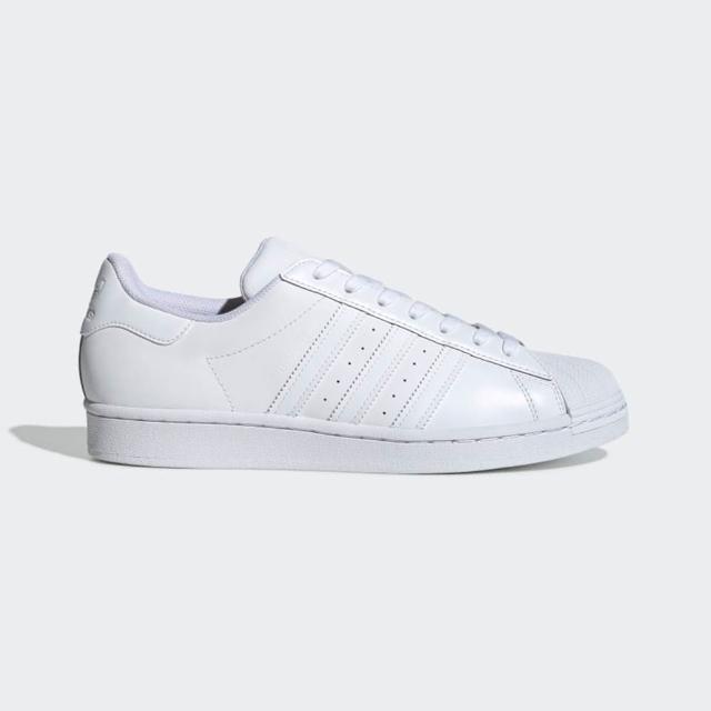 【adidas 愛迪達】休閒鞋 女鞋 男鞋 運動鞋 貝殼鞋 三葉草 Superstar 白 EG4960