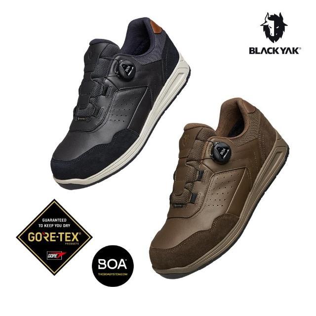 【BLACK YAK】男 MOAB III GTX防水休閒鞋[棕色/黑色]BYJB2MFH02(韓國 防水鞋 休閒鞋 男款)