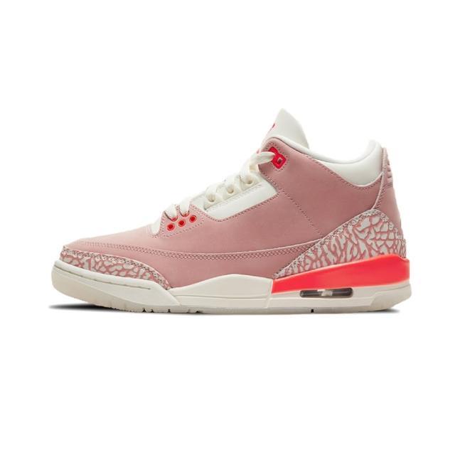 "【NIKE 耐吉】W Air Jordan 3 Retro ""Rust Pink"" 女 粉 爆裂紋 AJ3 休閒鞋 籃球鞋 CK9246-600"