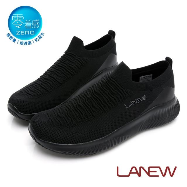 【La new】零著感輕量透氣防潑水鞋 運動鞋(男30276143)