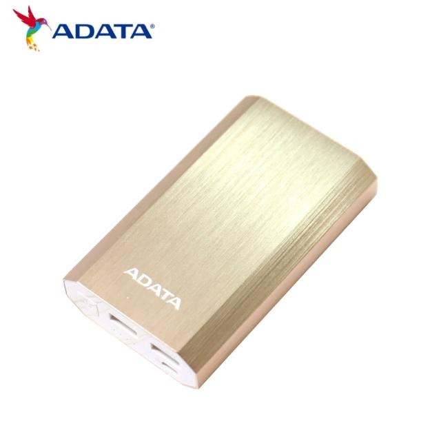 【ADATA 威剛】A10050 行動電源(鋁合金材質外觀 三色可選)