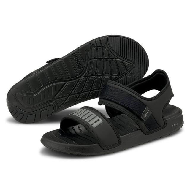 【PUMA】PUMA Softride Sandal 男女 涼鞋 黑色(37510401)
