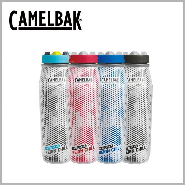 【CAMELBAK】1000ml Reign Chill 專業運動保冰噴射水瓶(Camelbak / 雙倍保冷 / 冷卻噴灑)